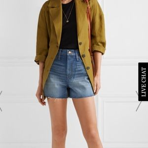 Madewell perfect vintage jean shorts